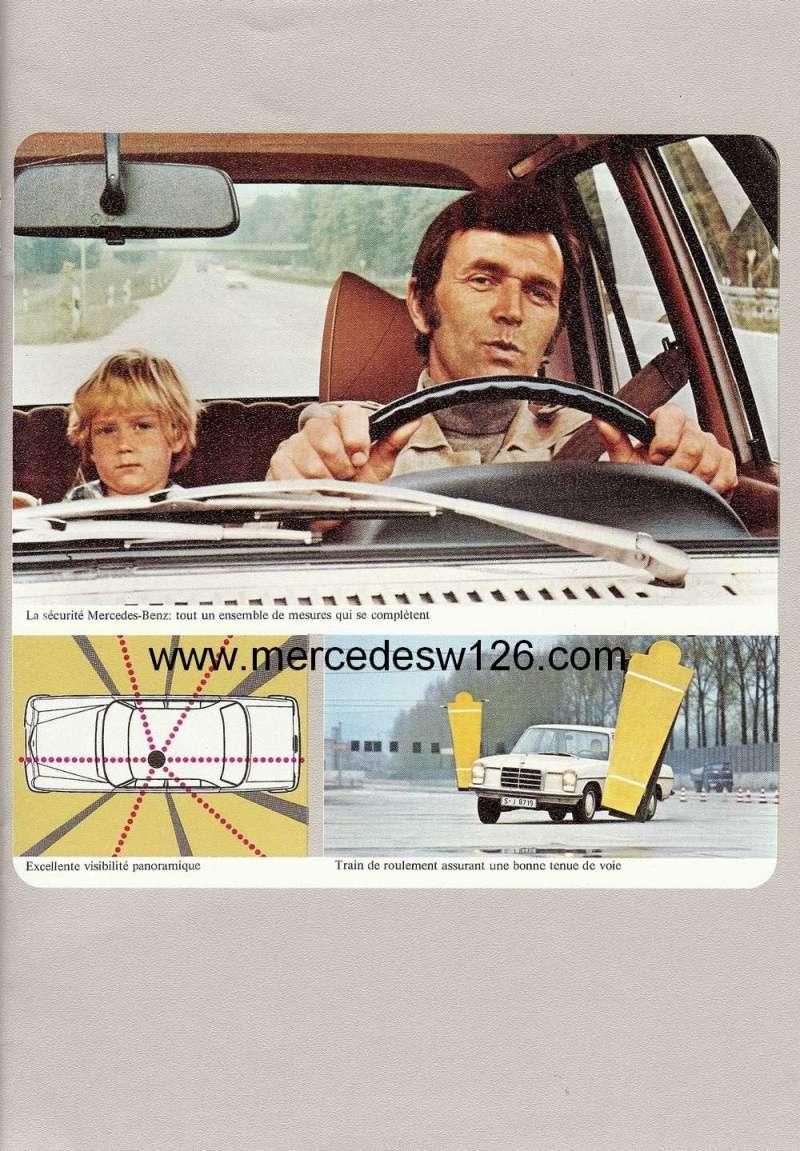 Catalogue de 1972 sur les Mercedes W114 250, 280 & 280 E W114_117