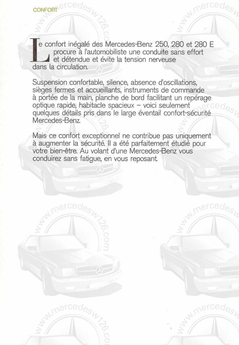 Catalogue de 1972 sur les Mercedes W114 250, 280 & 280 E W114_120