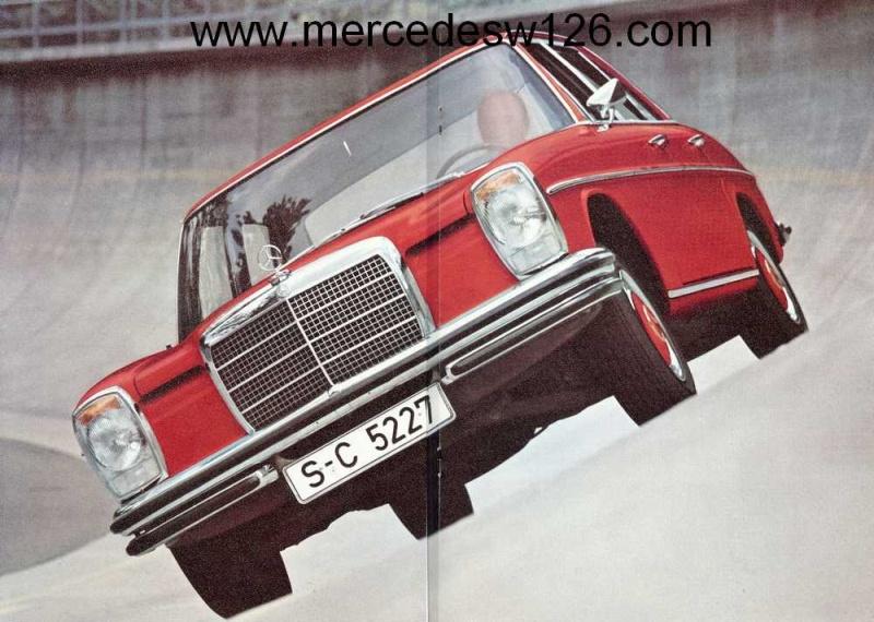 Catalogue de 1972 sur les Mercedes W114 250, 280 & 280 E W114_121