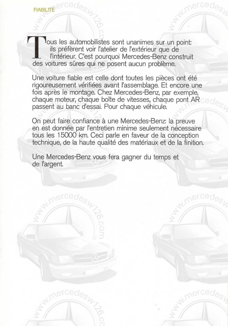 Catalogue de 1972 sur les Mercedes W114 250, 280 & 280 E W114_124