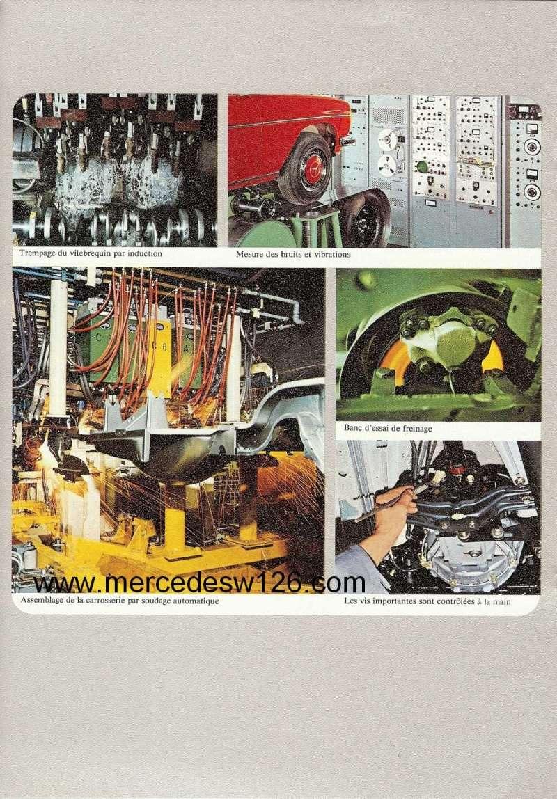 Catalogue de 1972 sur les Mercedes W114 250, 280 & 280 E W114_126