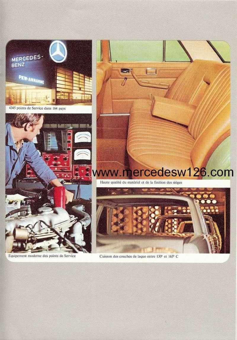 Catalogue de 1972 sur les Mercedes W114 250, 280 & 280 E W114_130