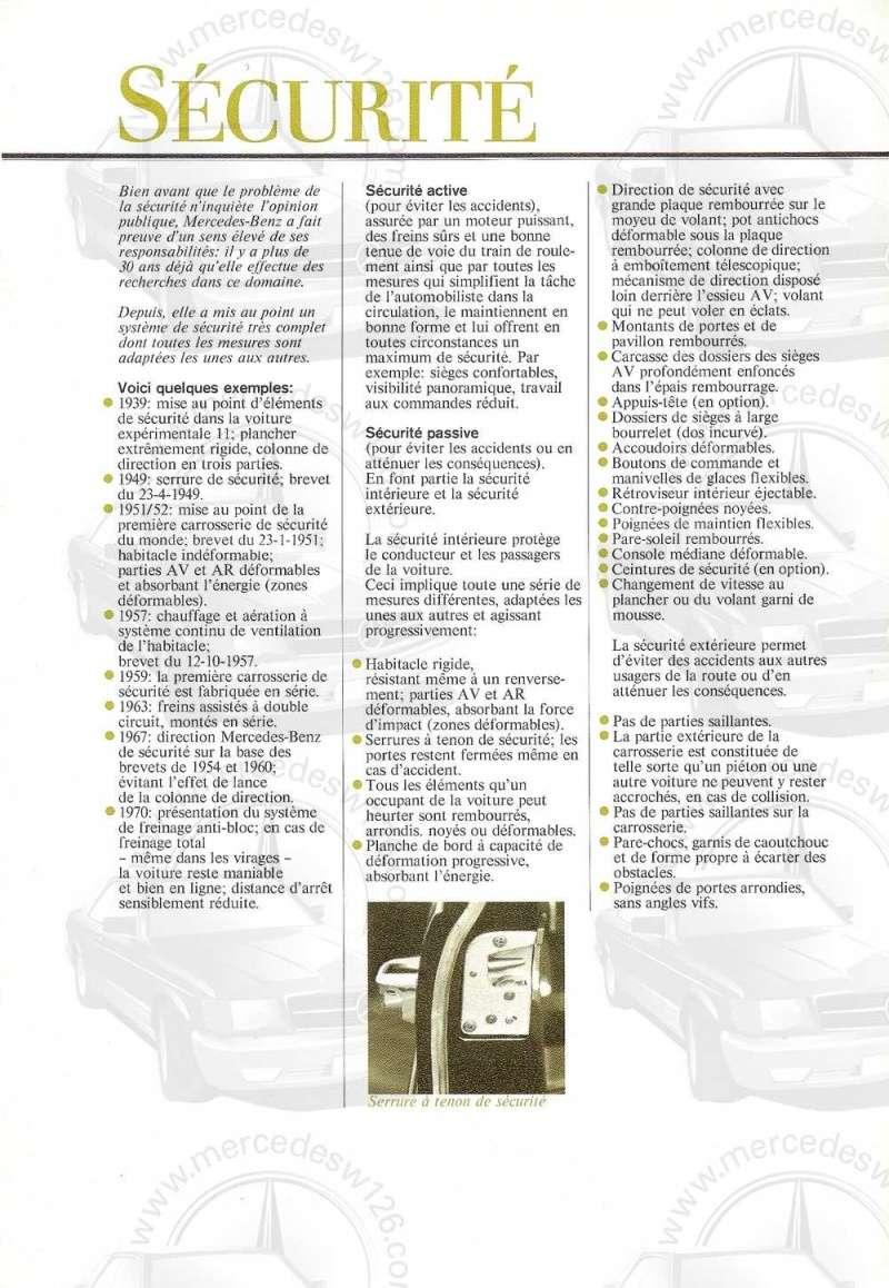 Catalogue de 1972 sur les Mercedes W114 250, 280 & 280 E W114_133