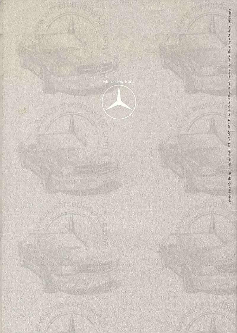 Catalogue de 1972 sur les Mercedes W114 250, 280 & 280 E W114_140