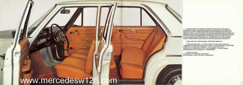 Catalogue de 1969 sur les W114 230 & 250 W114_223