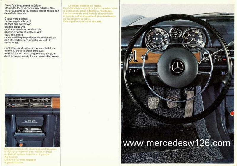 Catalogue de 1969 sur les W114 230 & 250 W114_224