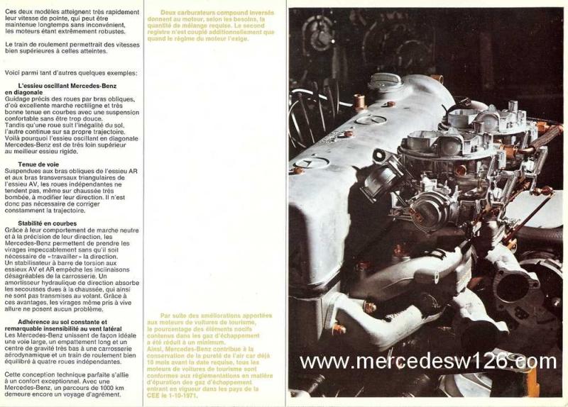 Catalogue de 1969 sur les W114 230 & 250 W114_232