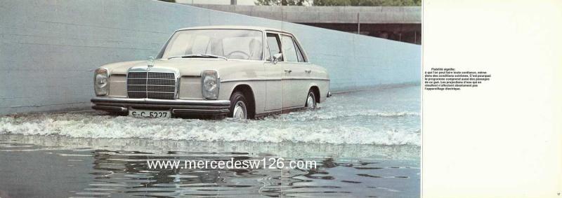 Catalogue de 1969 sur les W114 230 & 250 W114_233