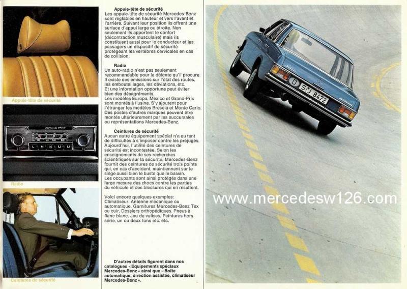 Catalogue de 1969 sur les W114 230 & 250 W114_242