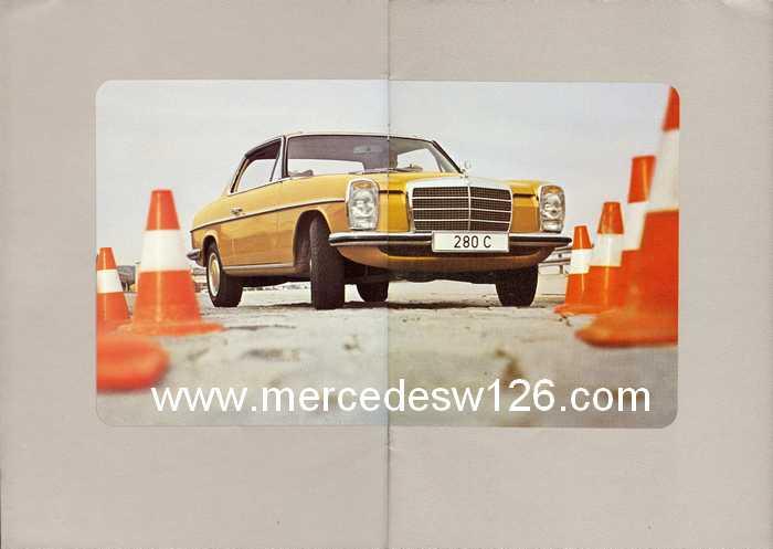 Catalogue de 1974 sur les W114 250 C, 280 C et 280 CE W114_c10