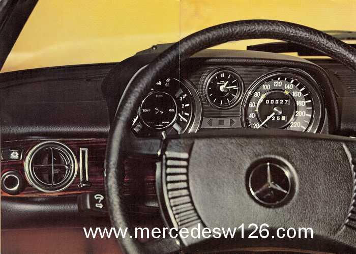 Catalogue de 1974 sur les W114 250 C, 280 C et 280 CE W114_c11