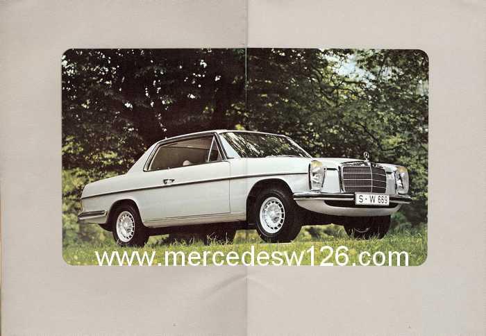 Catalogue de 1974 sur les W114 250 C, 280 C et 280 CE W114_c12
