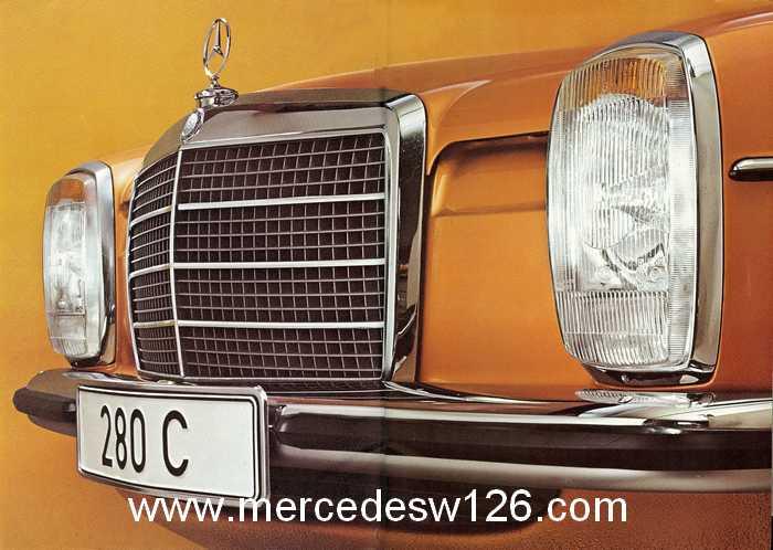 Catalogue de 1974 sur les W114 250 C, 280 C et 280 CE W114_c14