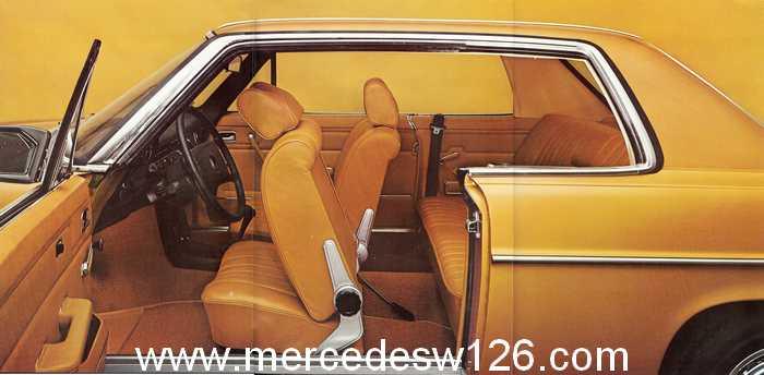 Catalogue de 1974 sur les W114 250 C, 280 C et 280 CE W114_c15