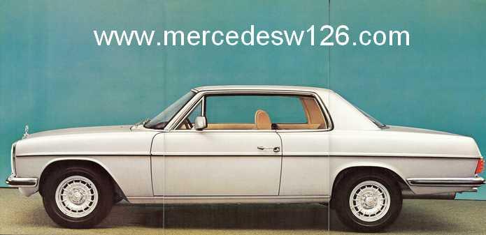 Catalogue de 1974 sur les W114 250 C, 280 C et 280 CE W114_c19