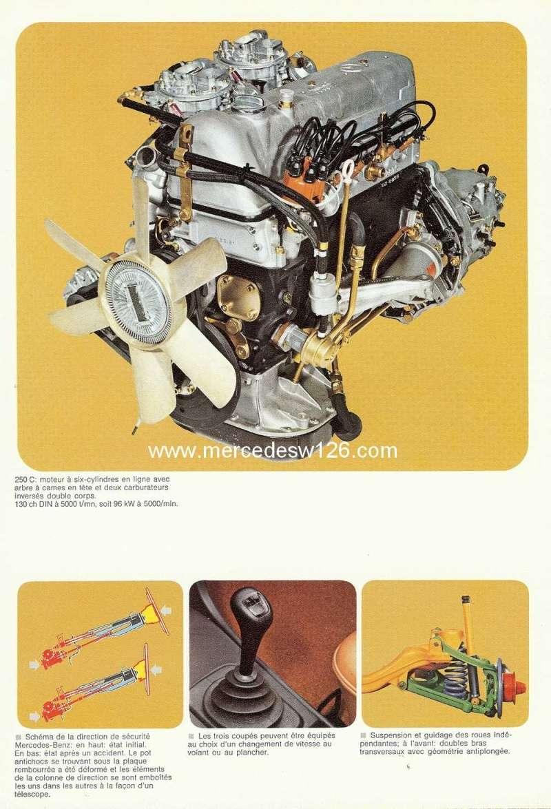 Catalogue de 1974 sur les W114 250 C, 280 C et 280 CE W114_c23