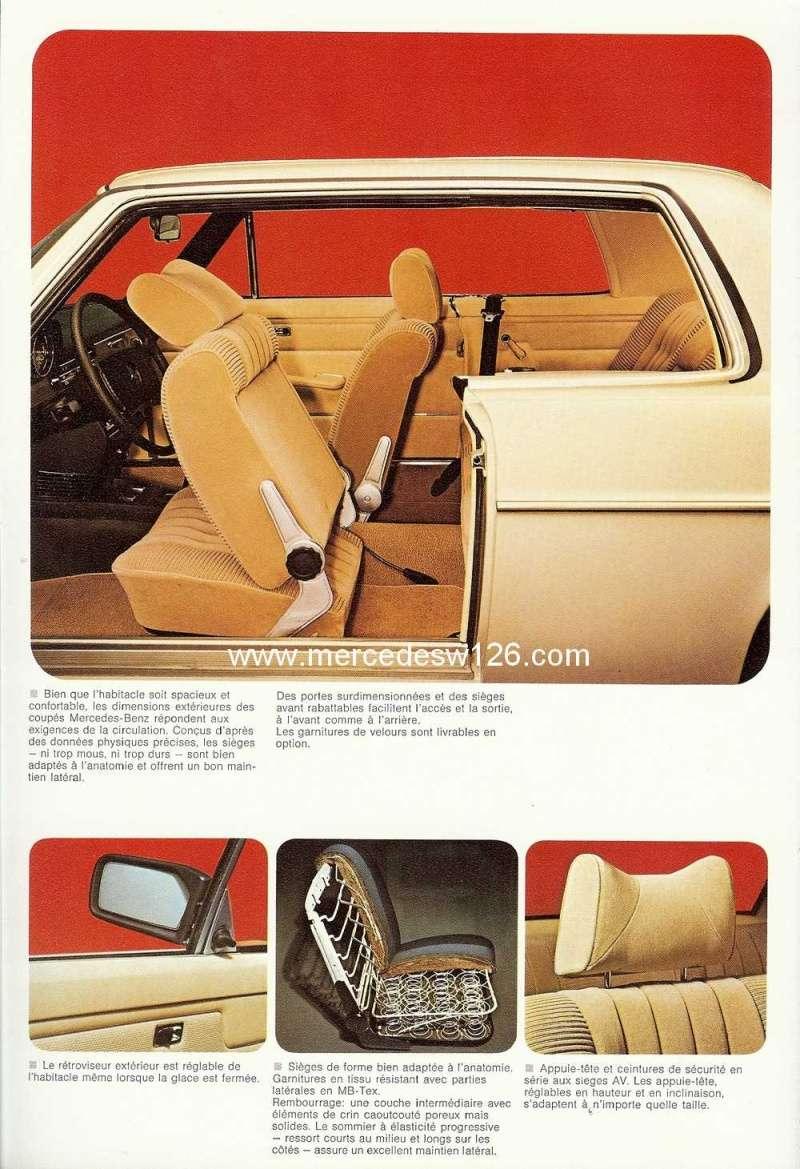 Catalogue de 1974 sur les W114 250 C, 280 C et 280 CE W114_c26