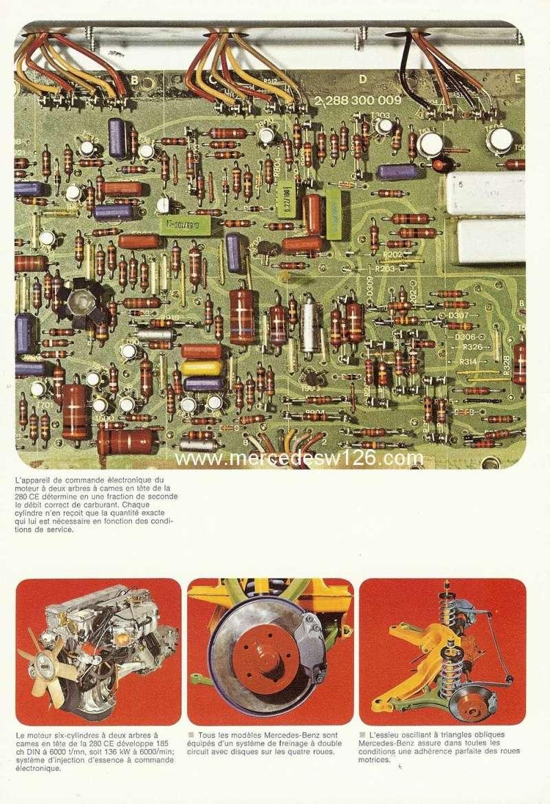 Catalogue de 1974 sur les W114 250 C, 280 C et 280 CE W114_c32