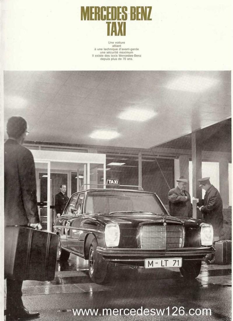 """Catalogue de 1968 sur la gamme Mercedes W114 & W115 """"Taxi"""" W114_t10"""