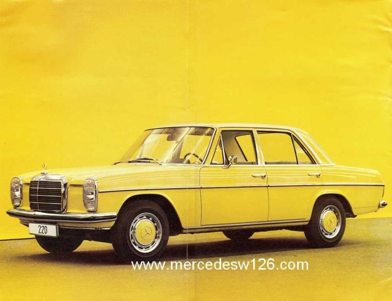 Catalogue de 1972 sur les W115 200 220 230 W115_110