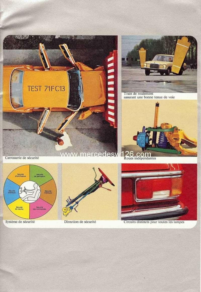 Catalogue de 1972 sur les W115 200 220 230 W115_116