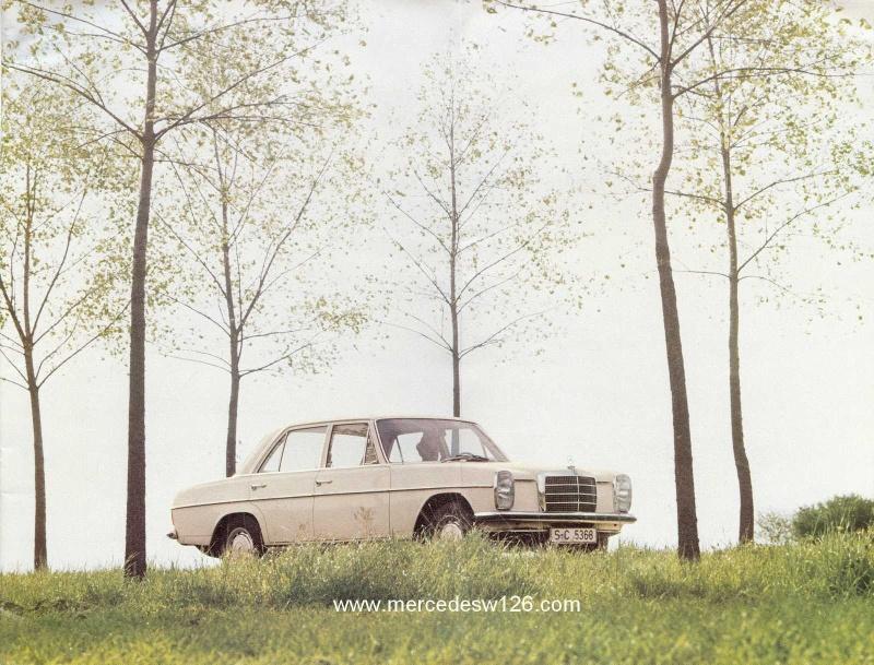 Catalogue de 1972 sur les W115 200 220 230 W115_121