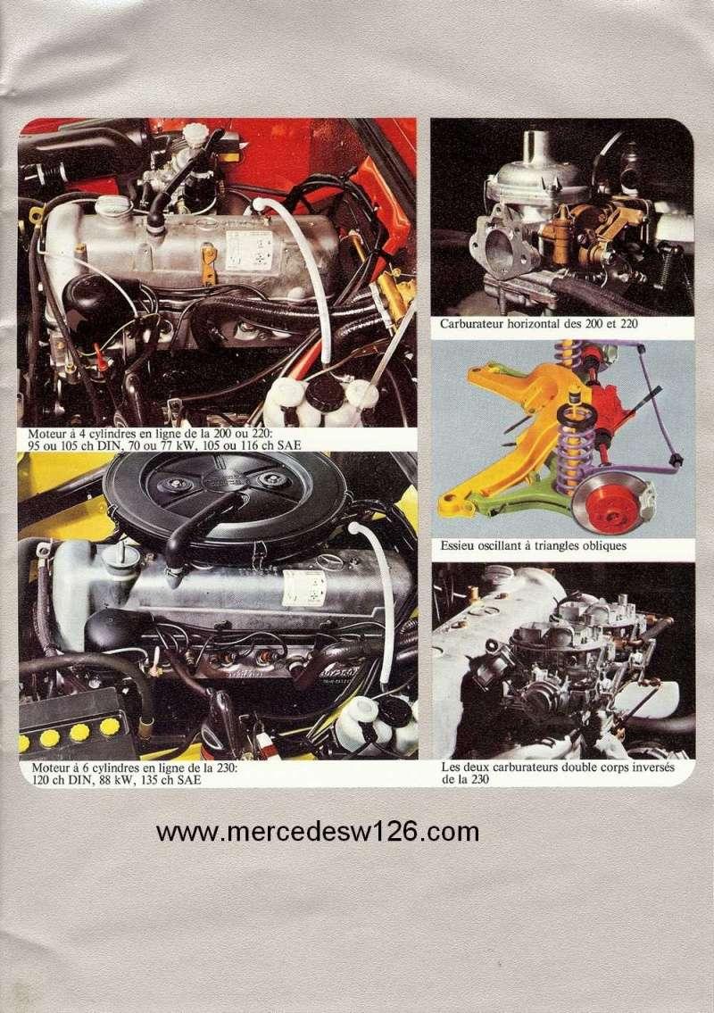 Catalogue de 1972 sur les W115 200 220 230 W115_125