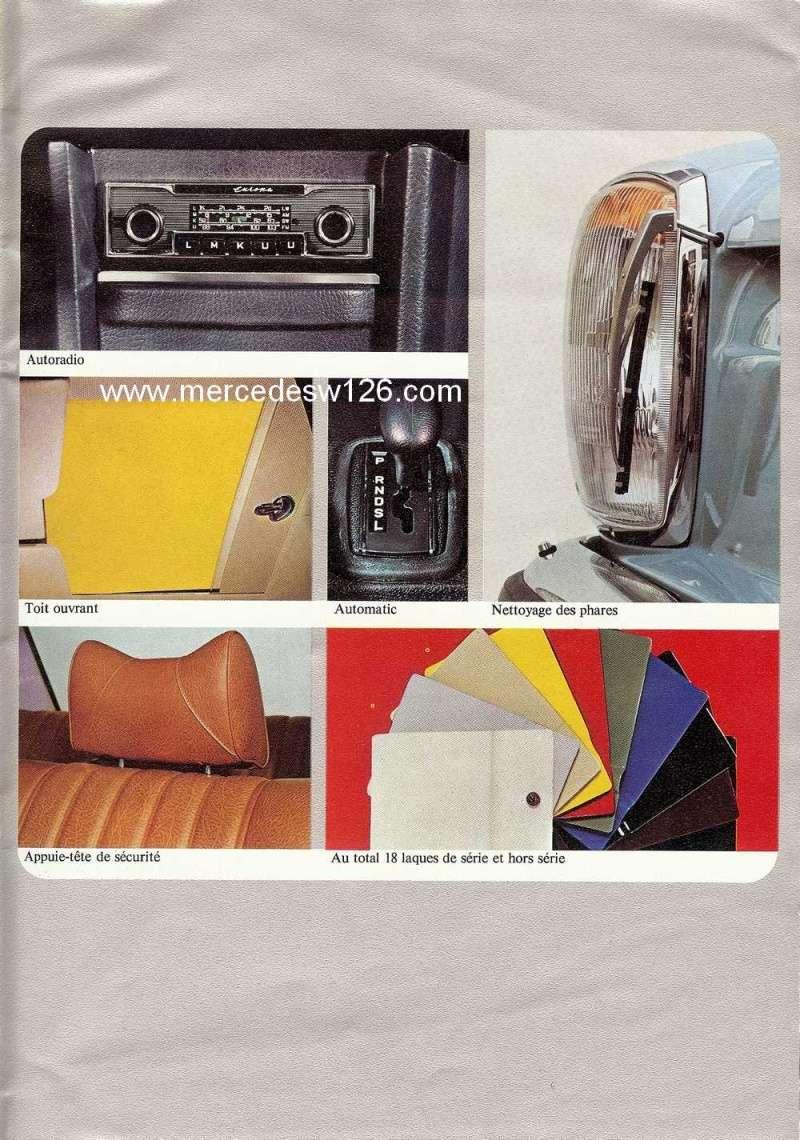 Catalogue de 1972 sur les W115 200 220 230 W115_129