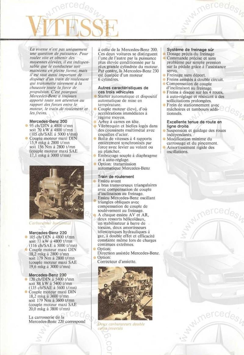 Catalogue de 1972 sur les W115 200 220 230 W115_133