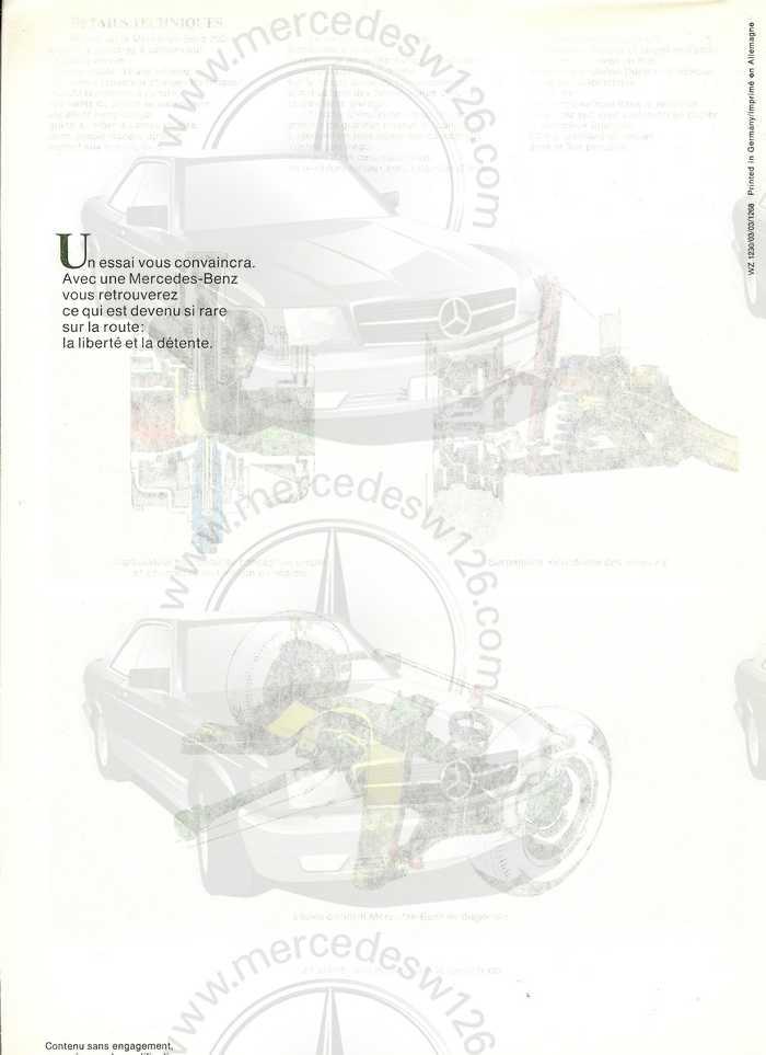 Catalogue de 1968 sur la Mercedes W115 200 W115_218