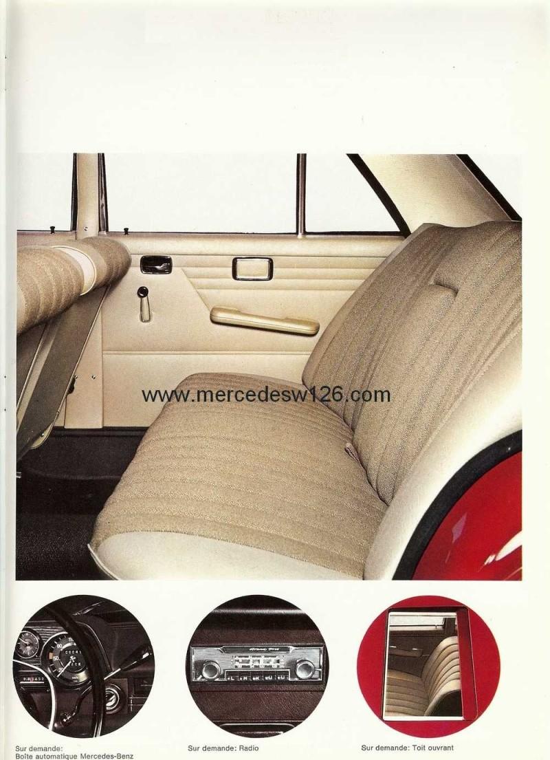 Catalogue de 1968 sur la Mercedes W115 200 D W115_228