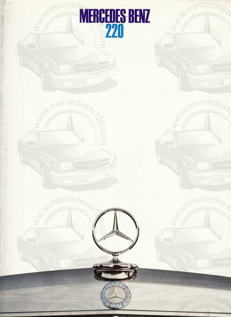 Catalogue de 1968 sur la Mercedes W115 220 W115_233