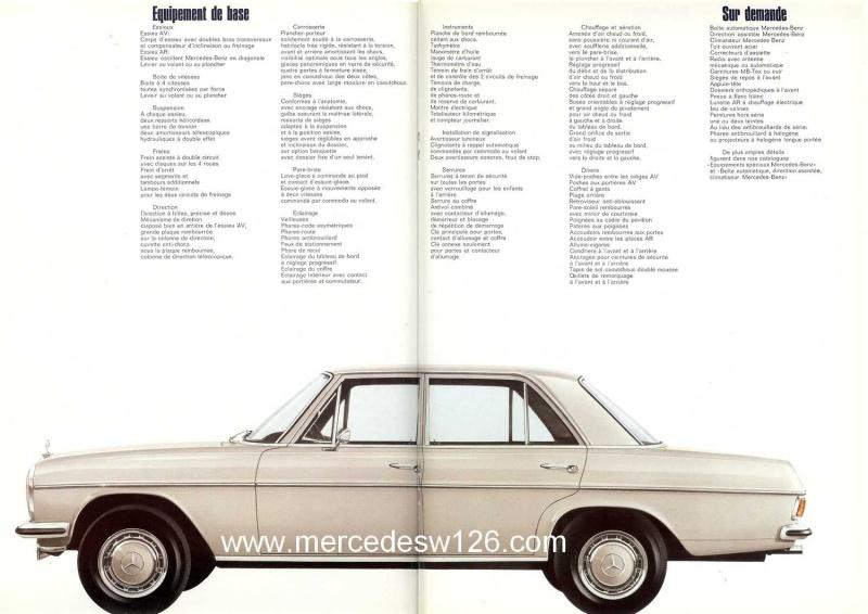Catalogue de 1968 sur la Mercedes W115 220 W115_237