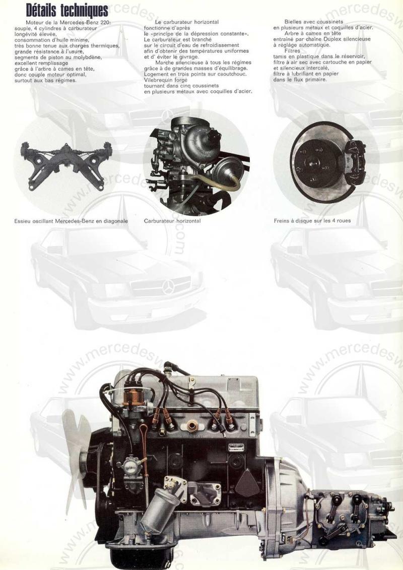 Catalogue de 1968 sur la Mercedes W115 220 W115_239