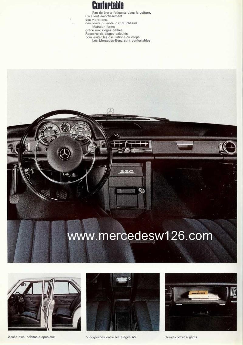 Catalogue de 1968 sur la Mercedes W115 220 W115_241