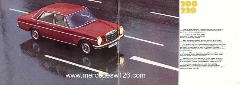 Catalogue de 1969 sur les W115 200 & 220 W115_247