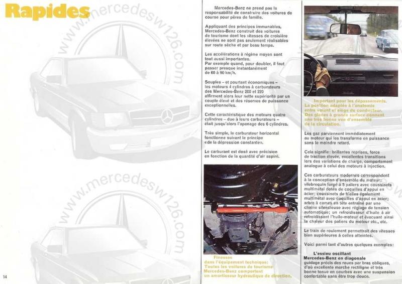 Catalogue de 1969 sur les W115 200 & 220 W115_251