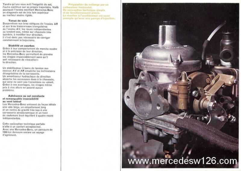 Catalogue de 1969 sur les W115 200 & 220 W115_252