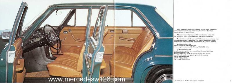Catalogue de 1969 sur les W115 200 & 220 W115_255