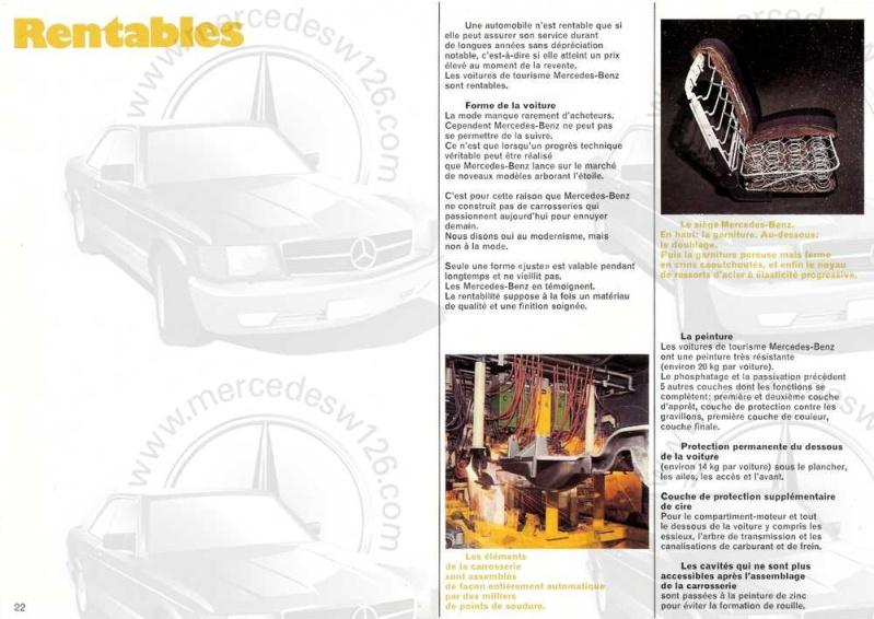 Catalogue de 1969 sur les W115 200 & 220 W115_261