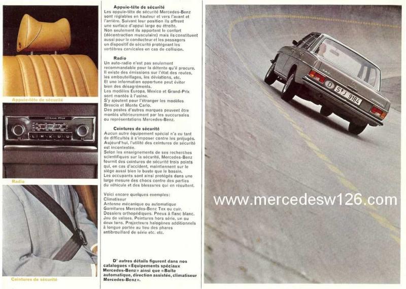 Catalogue de 1969 sur les W115 200 & 220 W115_265