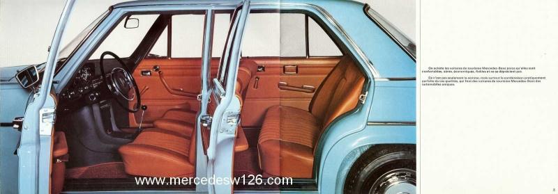 Catalogue de 1969 sur les W115 200 D & 220 D W115_269