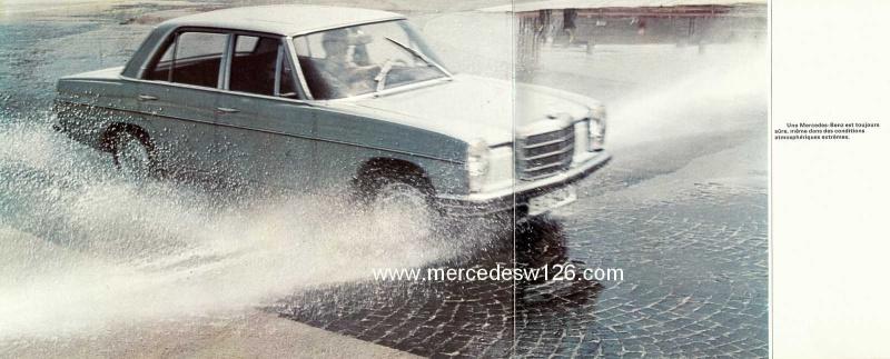 Catalogue de 1969 sur les W115 200 D & 220 D W115_279