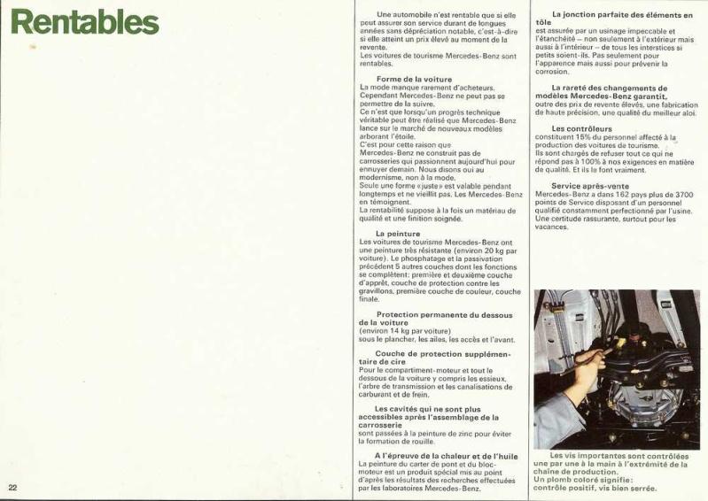 Catalogue de 1969 sur les W115 200 D & 220 D W115_281