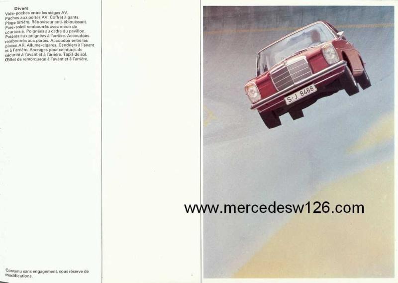 Catalogue de 1969 sur les W115 200 D & 220 D W115_282