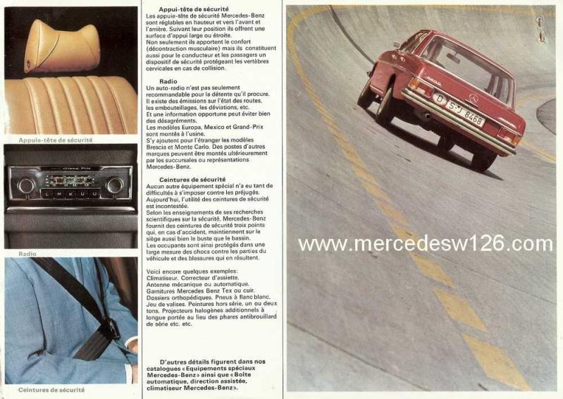 Catalogue de 1969 sur les W115 200 D & 220 D W115_286
