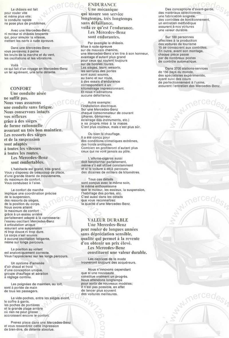 Catalogue de 1968 sur les coupés 250 C & CE W115_c18
