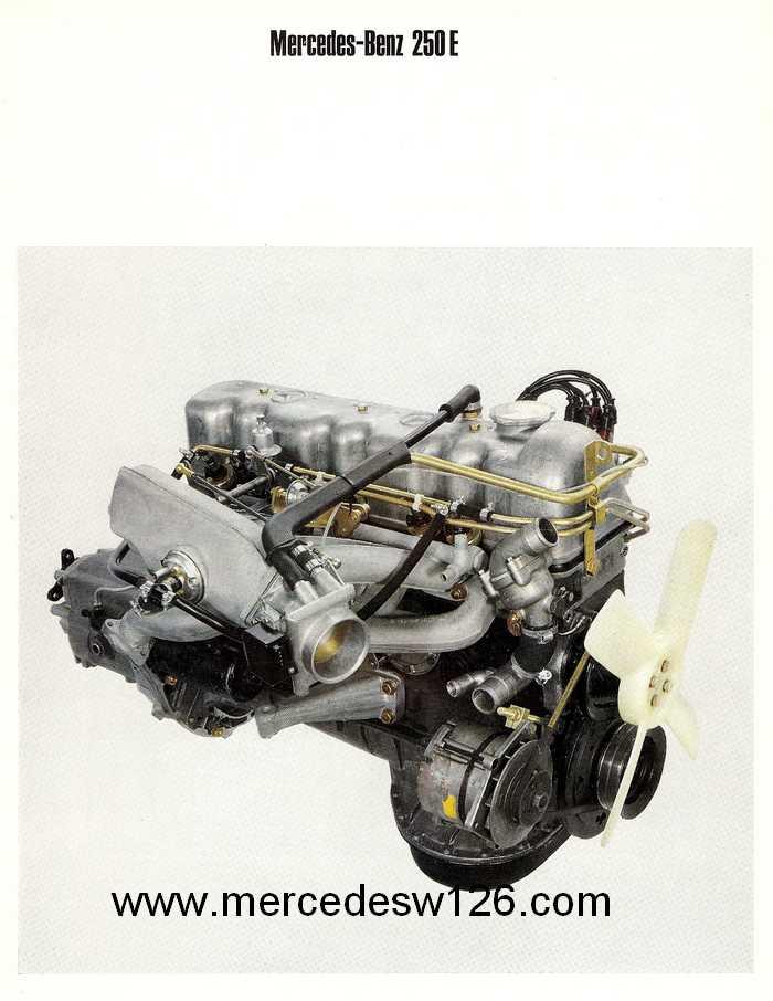 Catalogue de 1968 sur les coupés 250 C & CE W115_c20