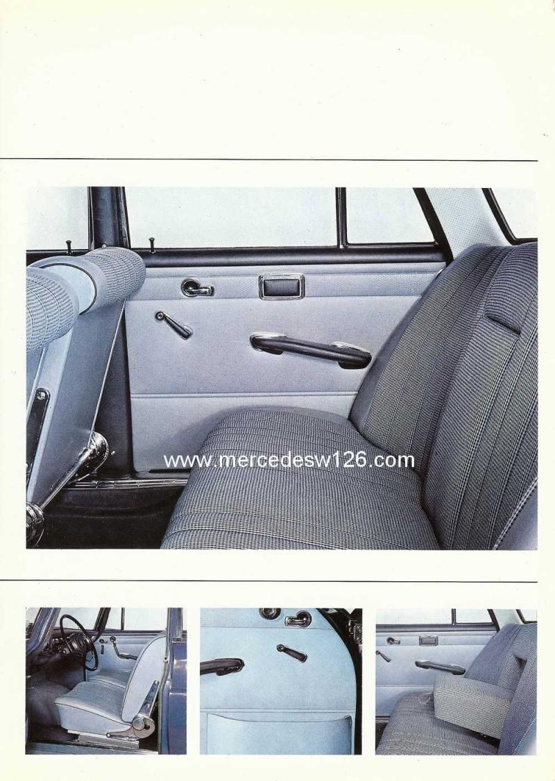 Catalogue de 1965 sur la Mercedes W111 230S W11_2314