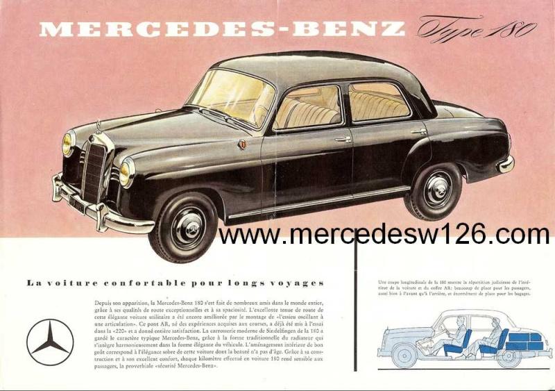 Prospectus sur la Mercedes W120 180 W120_110